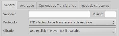 Filezilla, protocolos ftp, ftps y sftp