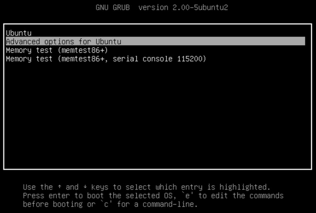 Grub, boot loader