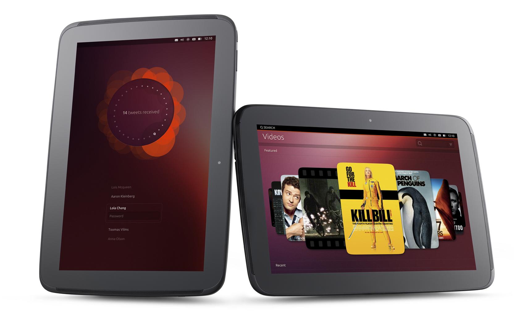 Ubuntu en dispositivos táctiles