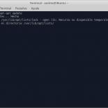 E: No se pudo bloquear /var/lib/apt/lists/lock - open (11 Recurso no disponible temporalmente)